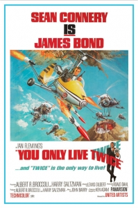 James Bond - 'You Only Live Twice' Poster