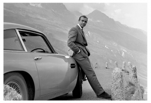 James Bond - Aston Martin - Print
