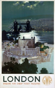 London - Railway Print