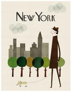 New York - Print