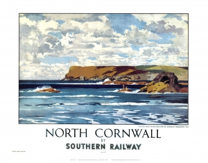 North Cornwall - Railway Poster Print