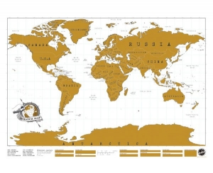 Scratch Map - The World