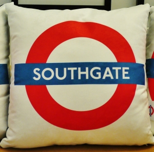 Southgate Tube Station logo