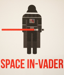 Space In-Vader - Card