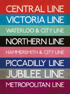 Tube Lines - Print