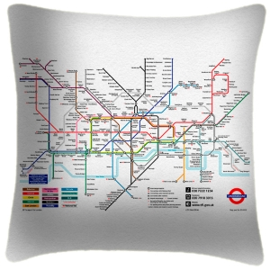 Tube Map - Cushion