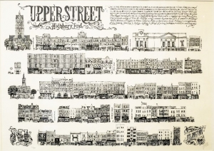 Vic Lee Upper Street Print
