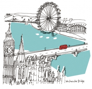 Westminster Bridge - Print