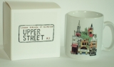 Boxed Mug - Upper Street, Islington