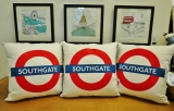 Southgate Tube - Cushion