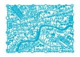 Summerbelle Map of London - Print