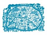 Summerbelle Map of Paris - Print