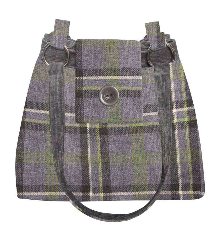 Fair Trade Handbag By Earth Squared Storm Grey