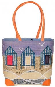 Beach Hut Raffia Straw Bag Fair Trade by Madaraff