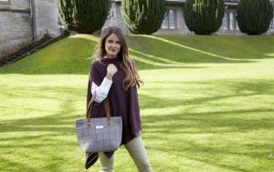 Heritage Tweed Tote Bag Earth Squared Fair Trade AW 2019