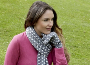 Jersey Spot Scarf Earth Squared Fair Trade AW 2019