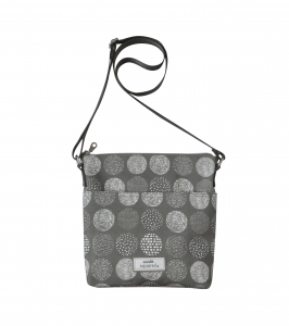 Oilcloth Messenger Bag Fair Trade by Earth Squared