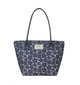 Oilcloth Tote Fair Trade by Earth Squared