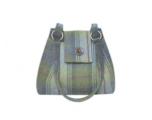 Tweed Ava Bag Fair Trade Handbag by Earth Squared
