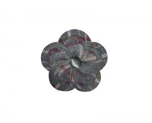 Tweed Brooch 2 Fair Trade Corsage Earth Squared