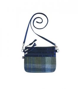 Tweed Pouch Bag Fair Trade Handbag by Earth Squared
