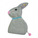 Herringbone Rabbit Purse Fair Trade by Earth Squared