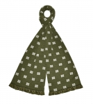 Jersey green Scarf fairtrade by Earth Squared