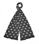 Jersey grey Scarf fairtrade by Earth Squared