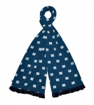 Jersey navy blue Scarf fairtrade by Earth Squared