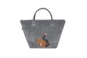 Applique Tote Handbag Fair Trade by Earth Squared