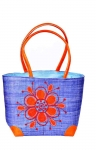 Bella Raffia Straw Bag Fair Trade by Madaraff