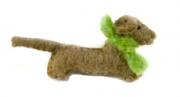 Charlie Sausage Dog Felt Brooch