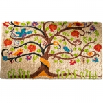 Coconut fibre doormat Tree of Life