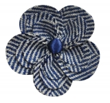 Herringbone Brooch Fair Trade Corsage Earth Squared