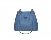 Herringbone Tweed Handbag Fair Trade Earth Squared Ava