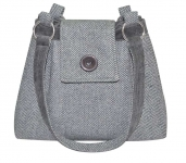 Herringbone Handbag Fair Trade Earth Squared Ava