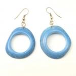 Tagua Seed Organic Natural Earrings Fair Trade Limbaret