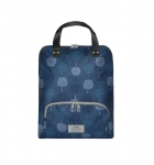 Oilcloth Backpack Fair Trade Earth Squared