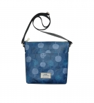 Oilcloth Messenger Bag Fair Trade Earth Squared