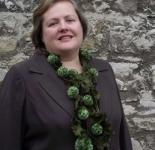 Passionara Pompom Scarf Greens
