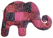 Patchwork elephant cotton Purse