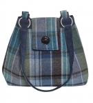 Tweed Ava Bag Fair Trade Handbag by Earth Squared