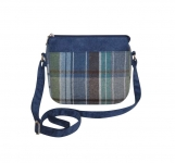 Tweed Messenger Bag Fair Trade Handbag by Earth Squared