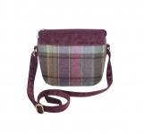 Tweed Messenger Bag Fair Trade Handbag by Earth Squared