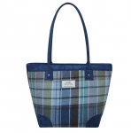 Tweed Tote Bag Fair Trade Handbag by Earth Squared