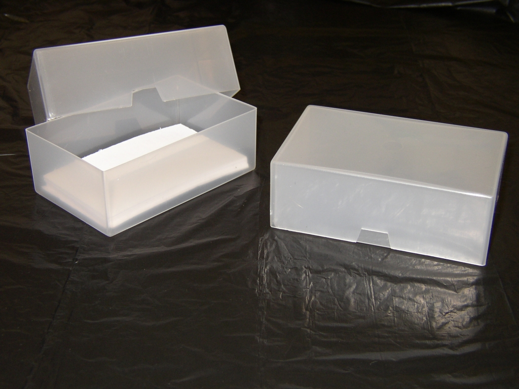 50 x business card boxes jell plastics business card box jell 50 x business card boxes reheart Image collections