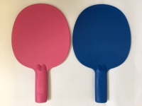 2 X ROBUST PLASTICS TABLE TENNIS BATS