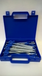 HARD GROUND TENT PEGS BLUE