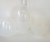 LARGE PLASTIC EASTER/PARTY/GIFT EGG - CLEAR