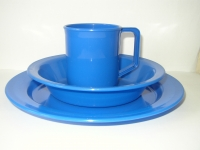 PLATE AND MUG SET(Click picture to see other colours)